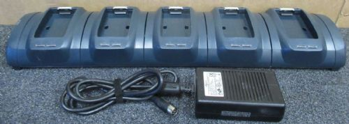 Vocollect CM-602-1 Five Bay Battery Charger For T2 Series With PSU Power Supply